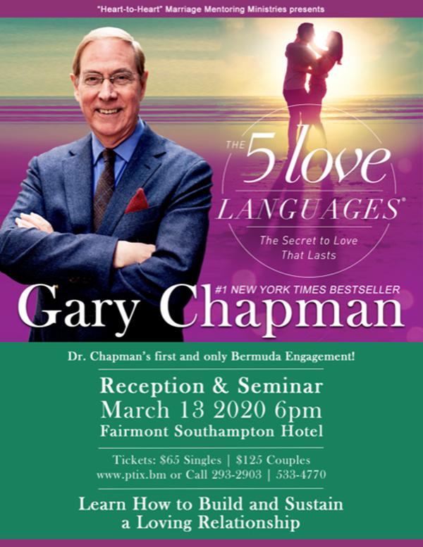 Dr Gary Chapman Bermuda March 2020