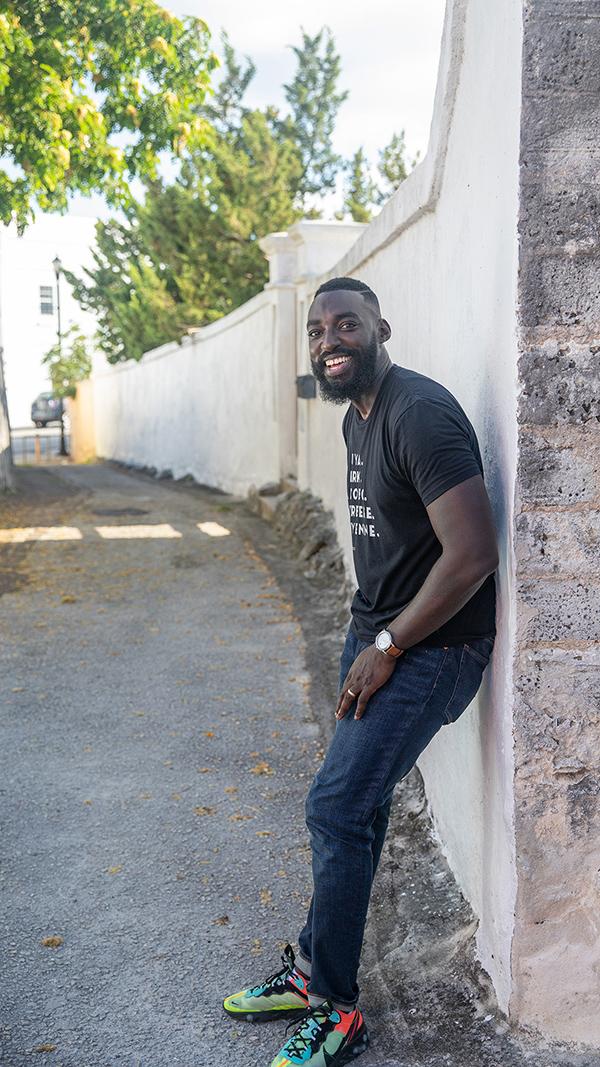 Eric Adjepong Bermuda March 2020