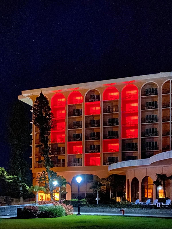 Fairmont Southampton Lights Up With Love Bermuda March 2020