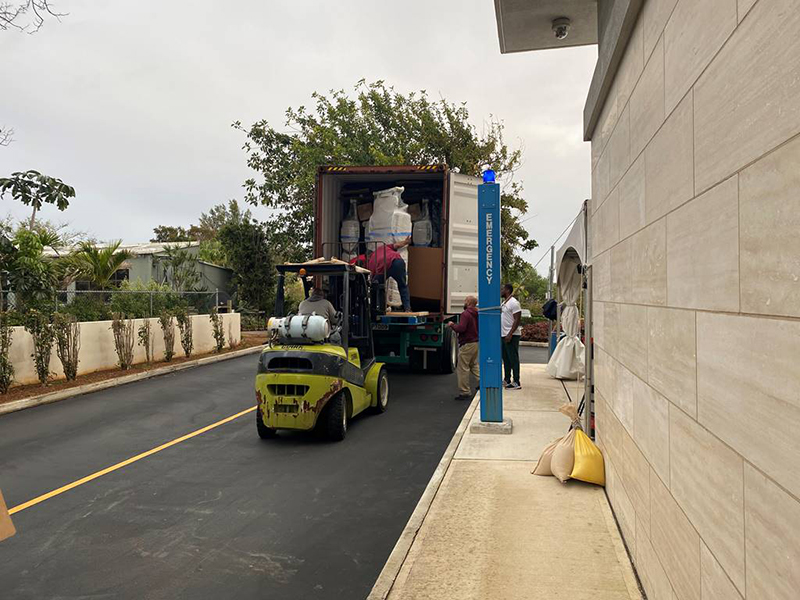 New Beds Arrive At KEMH Bermuda March 2020 (3)