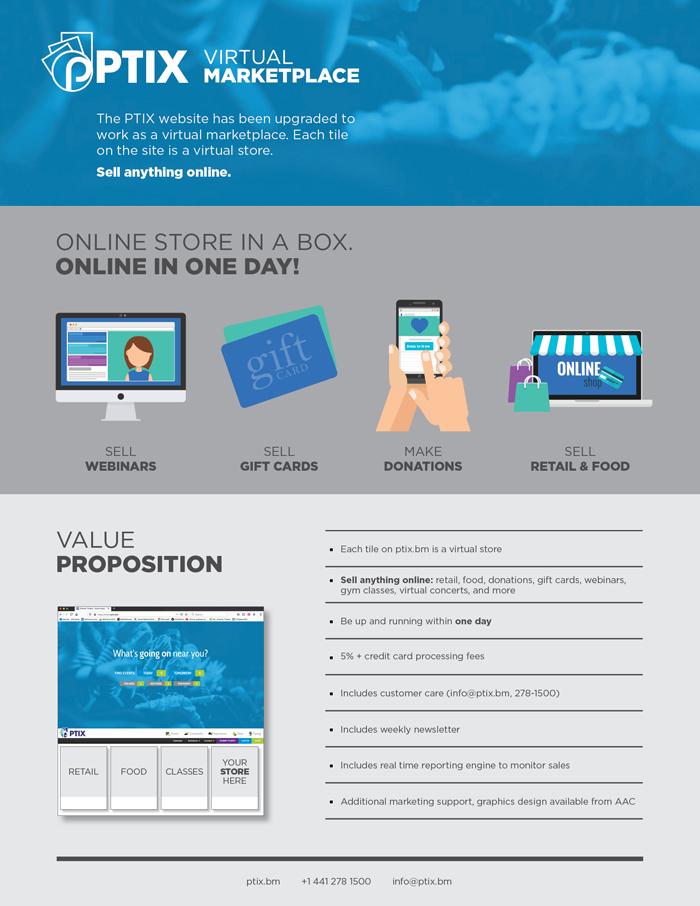 PTIX Virtual Marketplace Bermuda March 2020