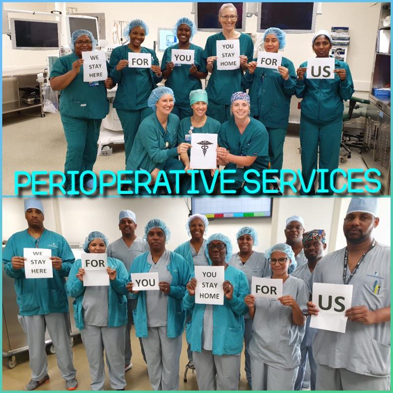 Perioperative Services Bermuda March 2020