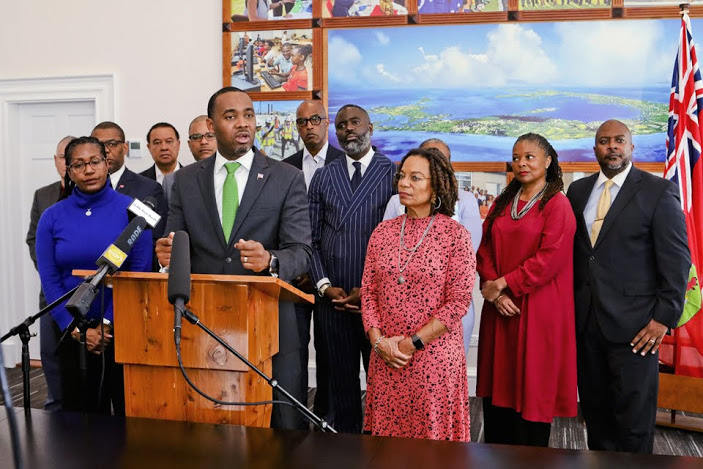 Press conference on COVID-19 Bermuda March 2020 (1)