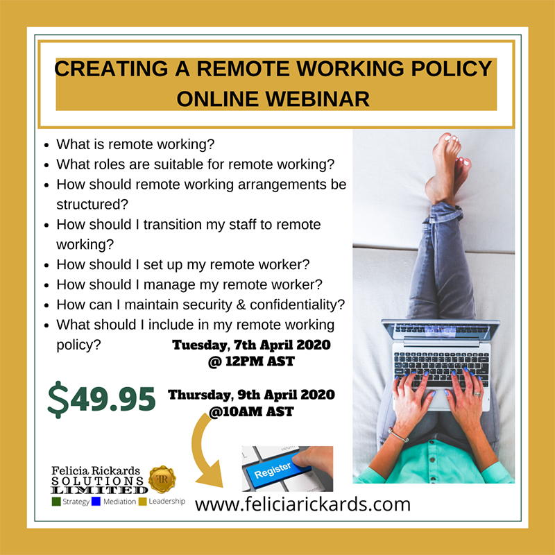 Support For Managing Remote Employees Webinar Bermuda March 2020 (1)