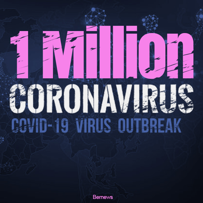 53,000 dead, over 1 million infected with deadly coronavirus globally