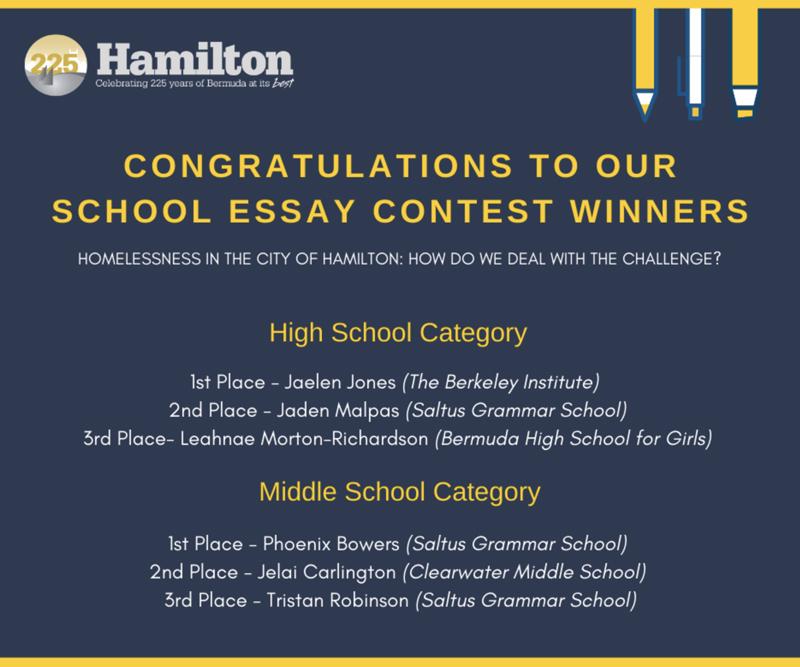 City School Essay Contest Winners Bermuda May 2020