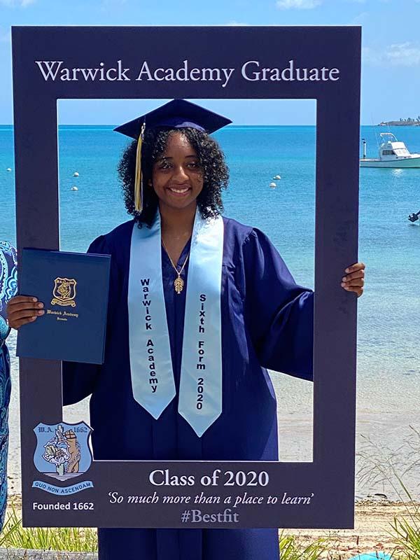 Warwick Academy Graduation Bermuda May 2020 (13)