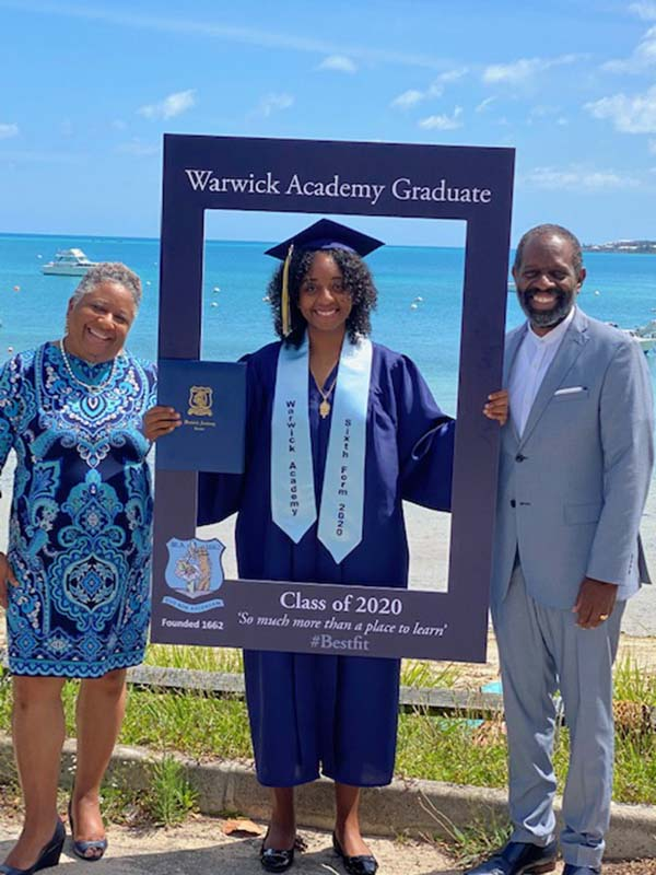 Warwick Academy Graduation Bermuda May 2020 (14)
