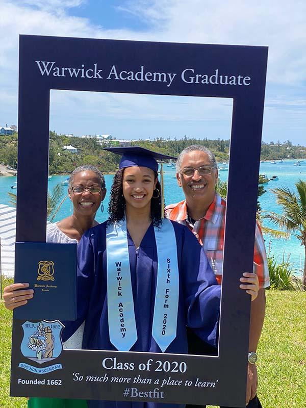 Warwick Academy Graduation Bermuda May 2020 (15)