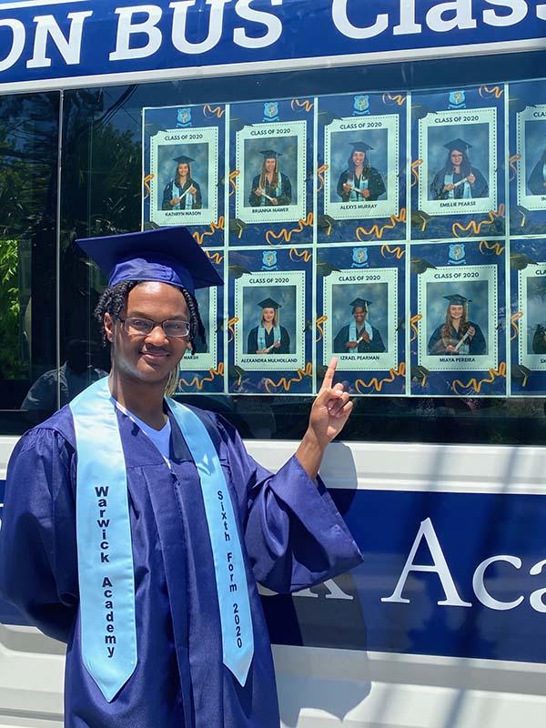 Warwick Academy Graduation Bermuda May 2020 (16)