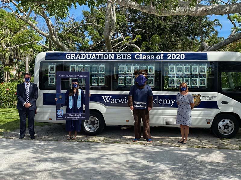 Warwick Academy Graduation Bermuda May 2020 (2)