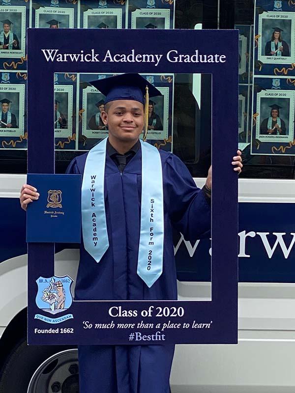 Warwick Academy Graduation Bermuda May 2020 (21)