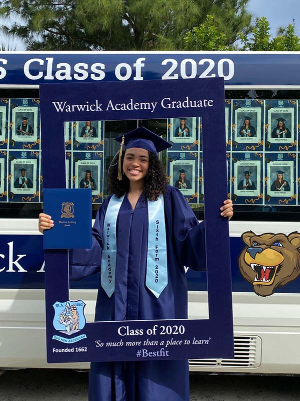 Warwick Academy Graduation Bermuda May 2020 (23)