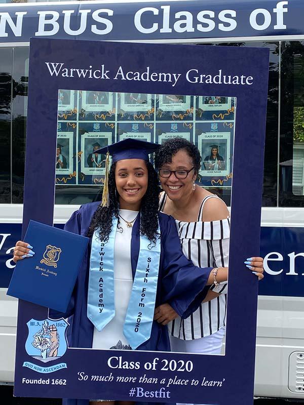 Warwick Academy Graduation Bermuda May 2020 (26)