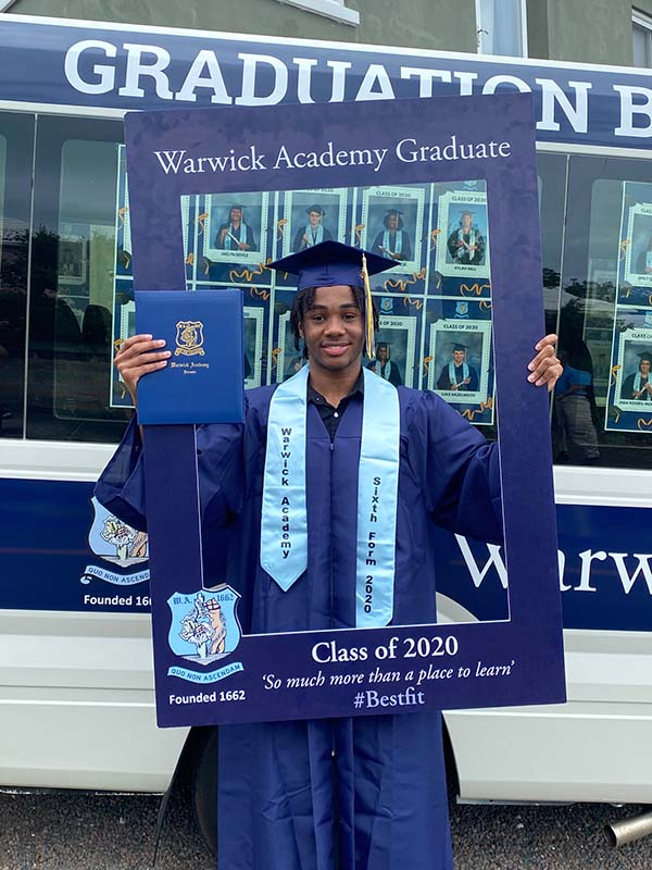 Warwick Academy Graduation Bermuda May 2020 (34)
