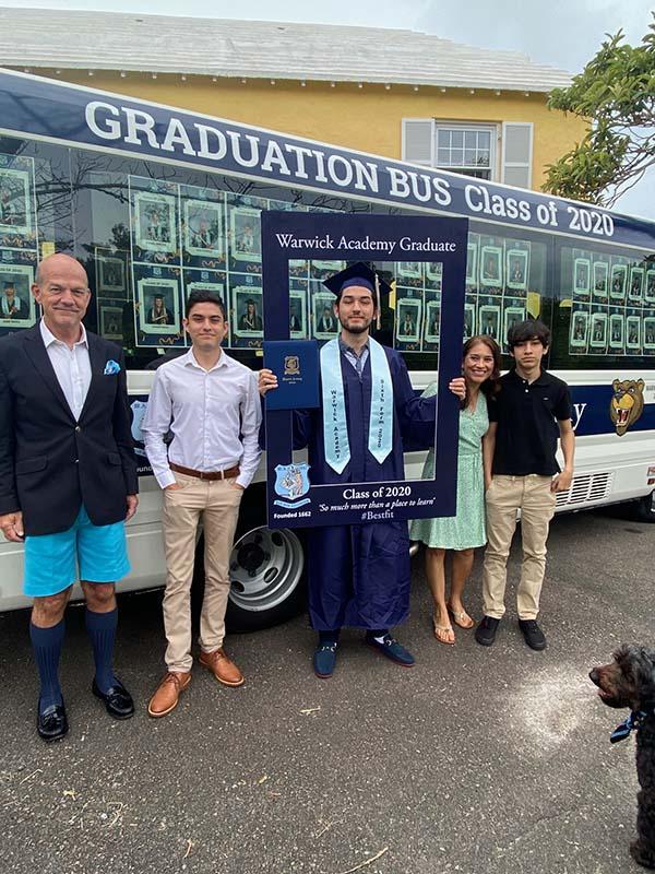Warwick Academy Graduation Bermuda May 2020 (37)
