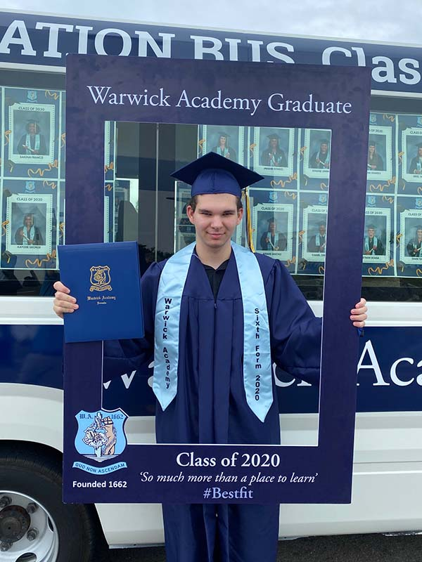 Warwick Academy Graduation Bermuda May 2020 (38)