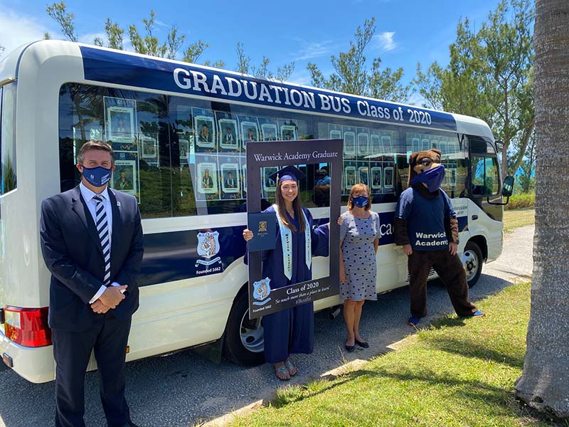 Warwick Academy Graduation Bermuda May 2020 (4)