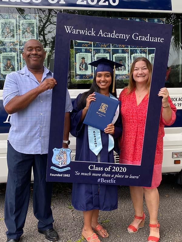 Warwick Academy Graduation Bermuda May 2020 (46)
