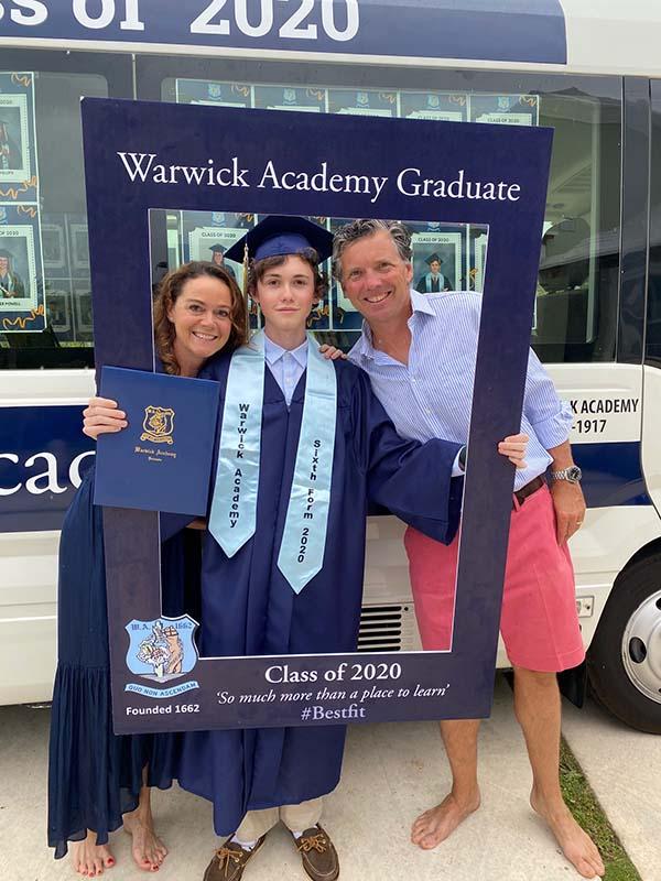 Warwick Academy Graduation Bermuda May 2020 (49)