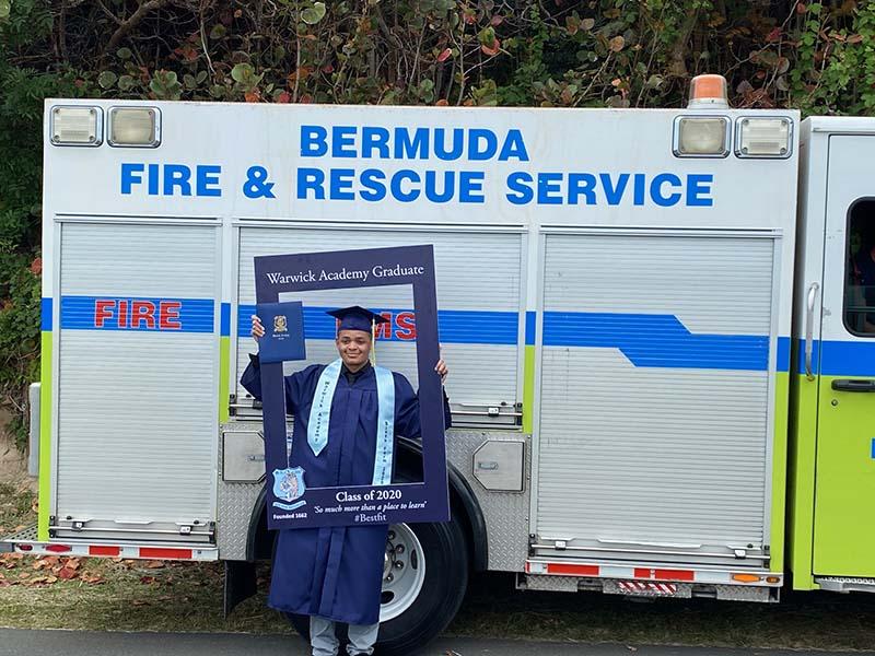 Warwick Academy Graduation Bermuda May 2020 (6)