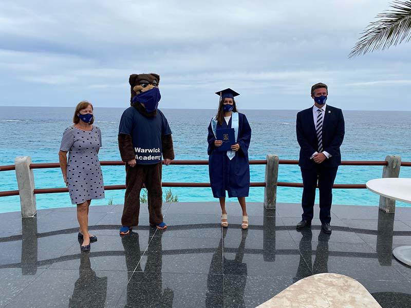 Warwick Academy Graduation Bermuda May 2020 (7)