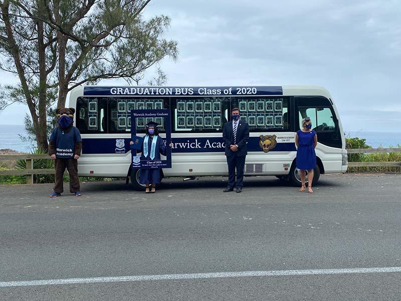Warwick Academy Graduation Bermuda May 2020 (8)