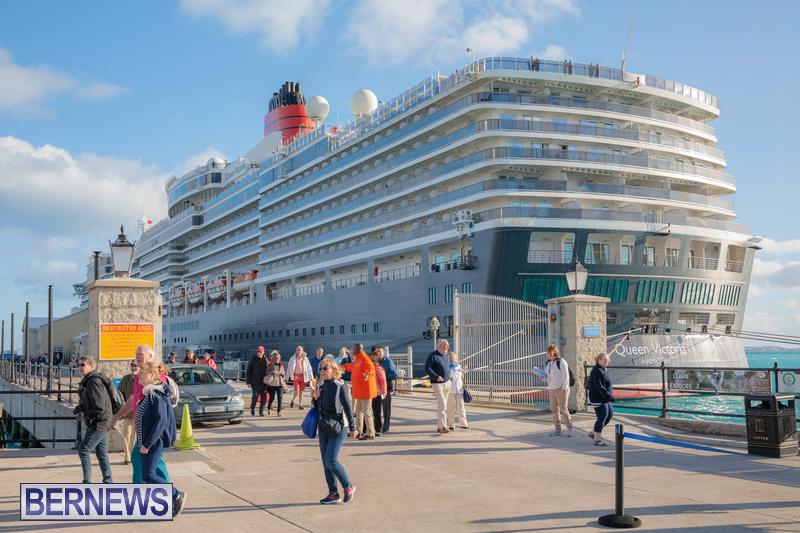 Queen Victoria cruise ship in Bermuda January 2020 (3)