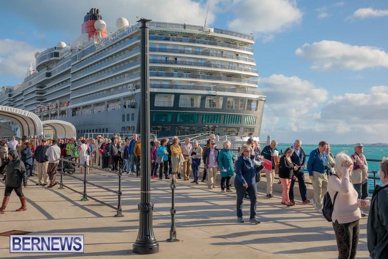 Queen Victoria cruise ship in Bermuda January 2020 (7)