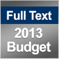 Full Document & Highlights: 2013/14 Budget