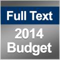 Full Document & Highlights: 2014/2015 Budget