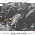 Low Pressure System Brewing In Atlantic