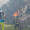 Minister Caines Thanks Bermuda Fire Service