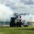 Video: Gun Salute Celebrates New Royal Baby