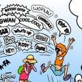 McGinger Comic: Greetings Bermuda Style