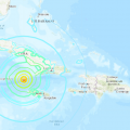 7.7 Magnitude Earthquake In Caribbean Sea