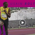 Video: Usain Bolt Races In Bermuda In 2004