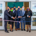 Photos: Ribbon Cutting For New Airport Building