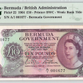 Rare Bermuda ₤10 Banknote Being Auctioned