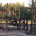 Photos & Video: Aftermath Of Fire At Playground