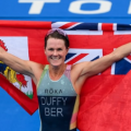 Photos: Flora Duffy Wins Gold Medal At Olympics