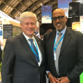 Simons Attends Conservative Conference In UK
