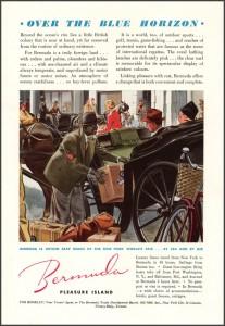 1939 BERMUDA Tourism ad