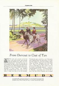 Bermuda tourism ad 1932