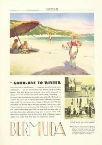 Bermuda tourism ad 1933