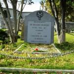 Governor Sir Richard Sharples grave