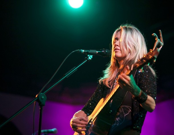 Heather Nova performs live during a concert at the Passionskirche on October 26, 2009 in Berlin, Germany. Photo credit: Jakubaszek/Getty Images