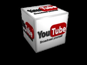 3d youtube icon