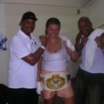 Teresa Perozzi female boxer
