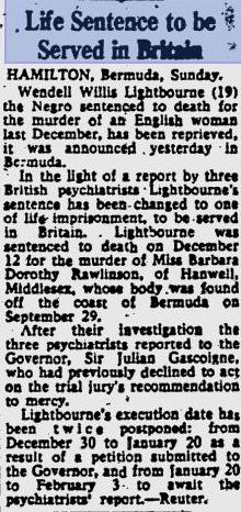 News article from The Glasgow Herald on Feb 1, 1960